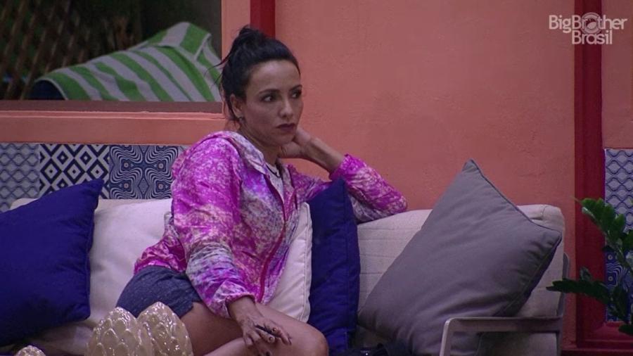 Marinalva conversa com Ieda sobre paredão - Reprodução/TV Globo