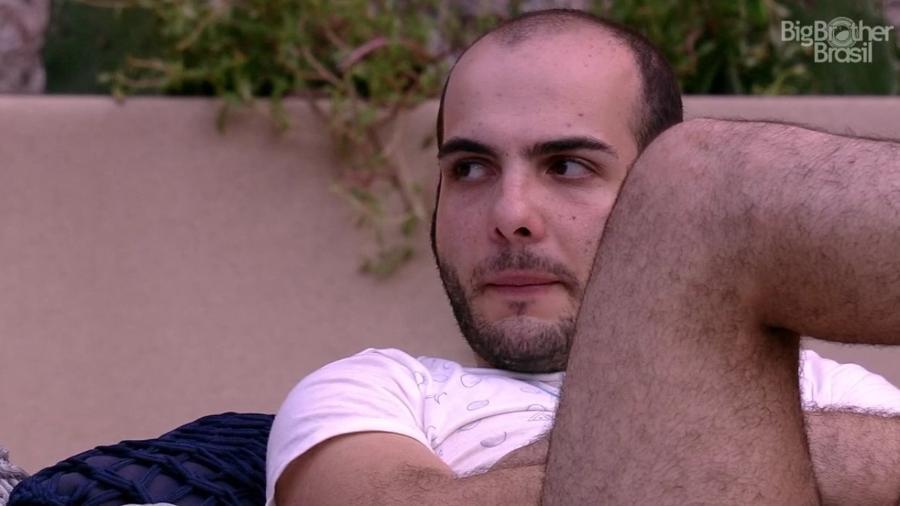 Mahmoud conversa com Ayrton e Ana Clara sobre paredão da semana - Reprodução/Globoplay