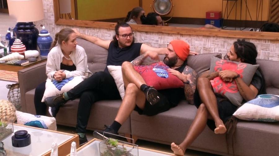 Brothers conversam após liderança de Ana Clara - Reprodução/Gshow