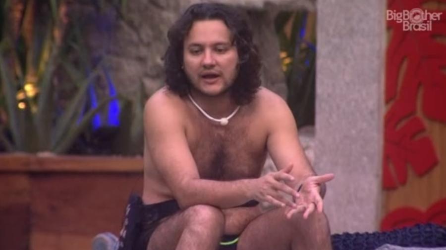 Diego afirma que está pronto para jogar  - Reprodução/Globoplay