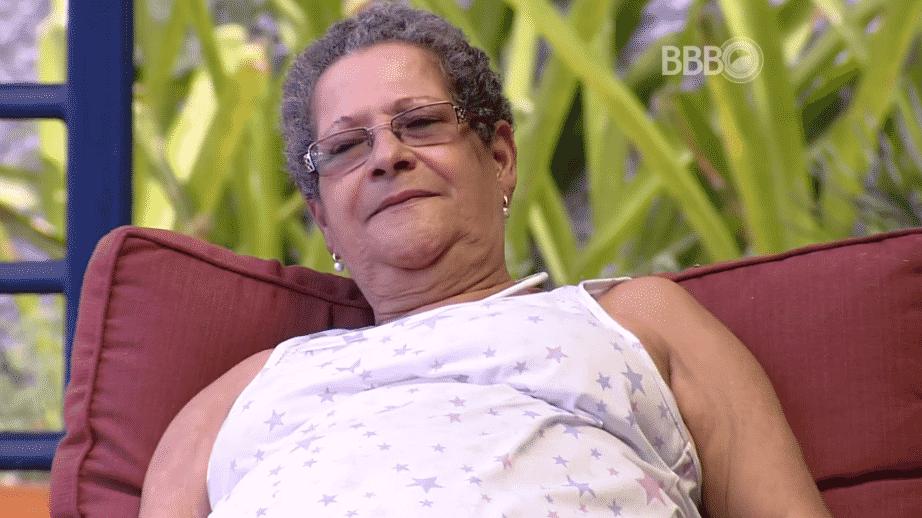 """19.fev.2016 - Geralda crítica Ronan, sua dupla na prova do líder desta semana no """"BBB16'. A sister chegou a chamar o estudante de arrogante - Reprodução/TV Globo"""