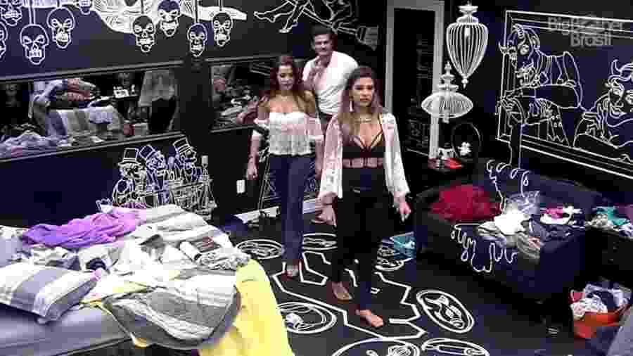 Todos os brothers se mudam para o quarto preto - Reprodução/TV Globo