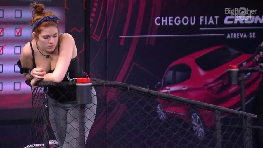 Ana Clara reclama do tédio durante prova da imunidade - Reprodução/GloboPlay