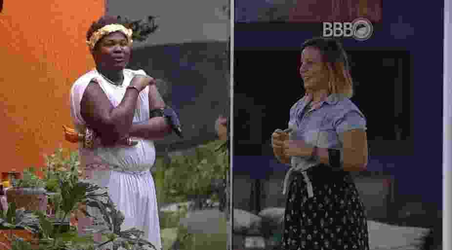 """12.mar.2016 - Maria Claudia diz que fará simpatia para arranjar marido no """"BBB16"""" - Reprodução/TV Globo"""