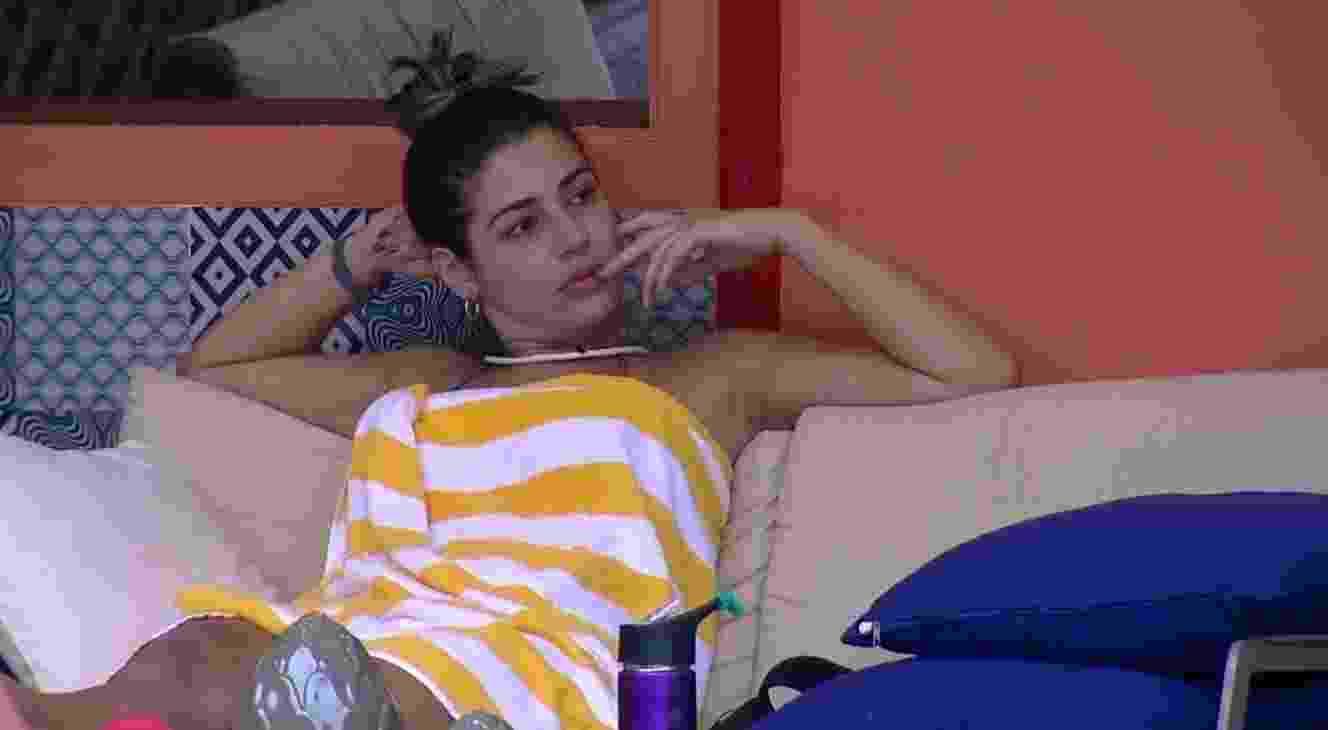 """Vivian critica Emilly: """"Ela não sai mais"""" - Reprodução/TVGlobo"""