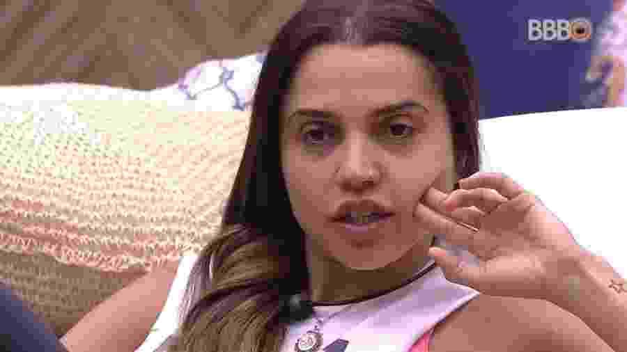 Paula reclama da postura de Gleici e Ana Clara no programa  - Reprodução/Globoplay