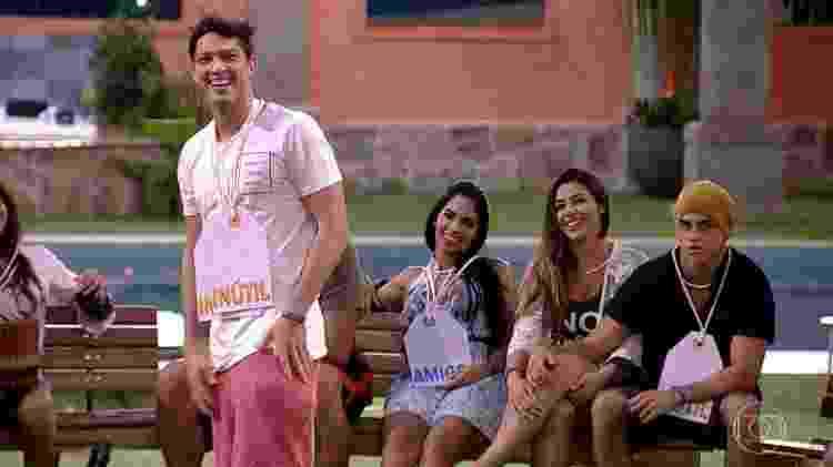 Luiz Felipe - Reprodução/TV Globo - Reprodução/TV Globo