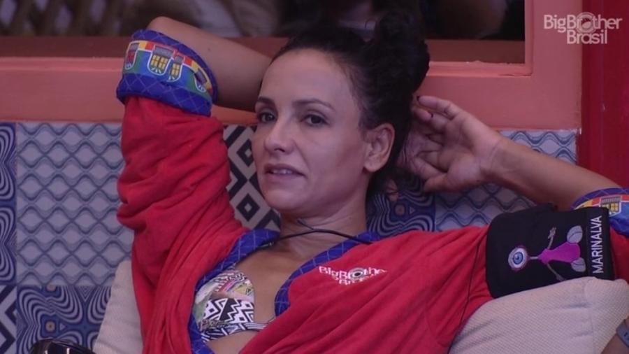 """Marinalva compara """"BBB"""" a Paralimpíadas - Reprodução/TVGlobo"""