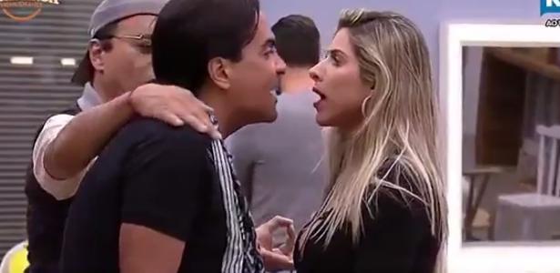 Fábio Arruda xinga Ana Paula Minerato de macaca