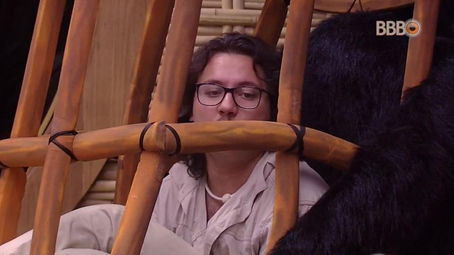 Diego fala de Ayrton no quarto do líder - Reprodução/GlobosatPlay