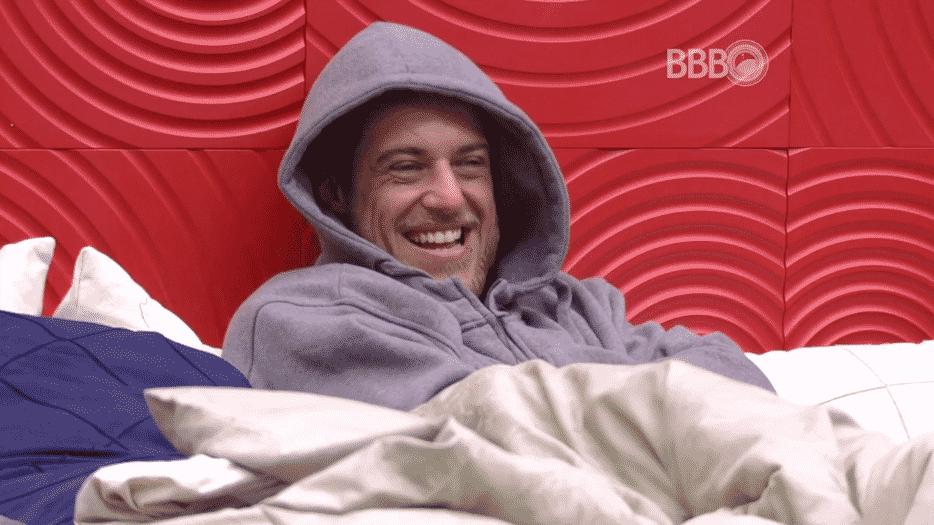 4.fev.2016 - Daniel afirma querer Geralda, Ana Paula e Ronan fora da prova do líder - Reprodução/TV Globo