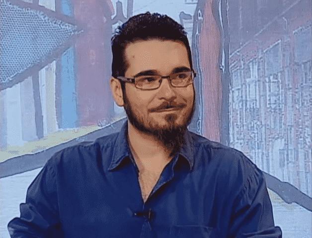 """Alan marinho, do """"BBB16"""" participa do programa """"Café Filosófico"""", da TV Universitária - TVU, no Rio Grande do Norte - Reprodução/YouTube"""