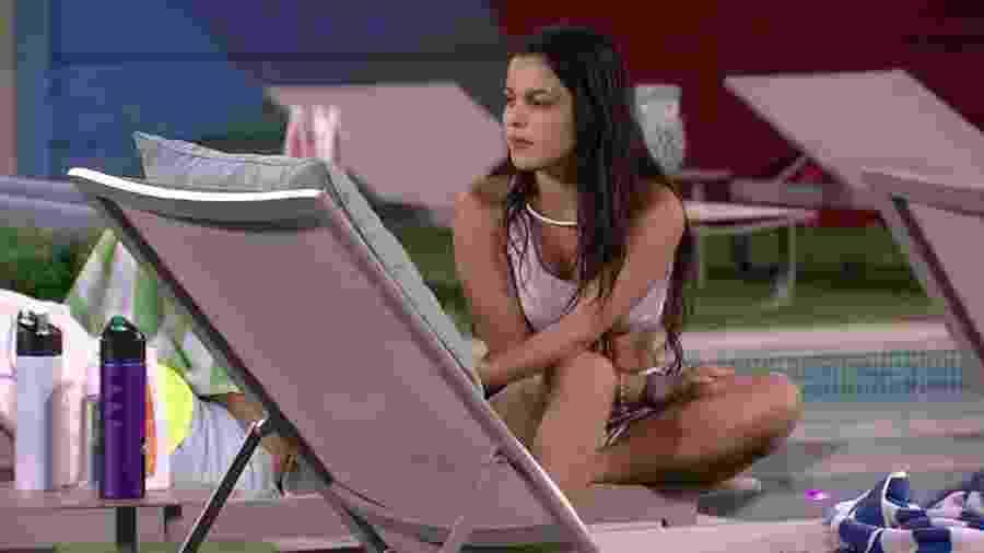 """Emilly fala sobre término de namoro: """"Muito cachorro"""" - Reprodução/Tv Globo"""