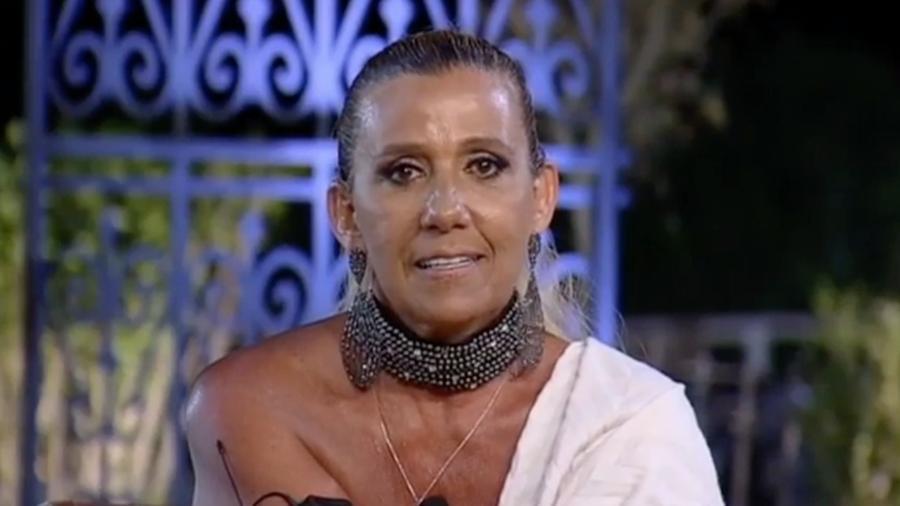 Rita Cadillac diz que acha jogo de Conrado incorreto - Reprodução/R7