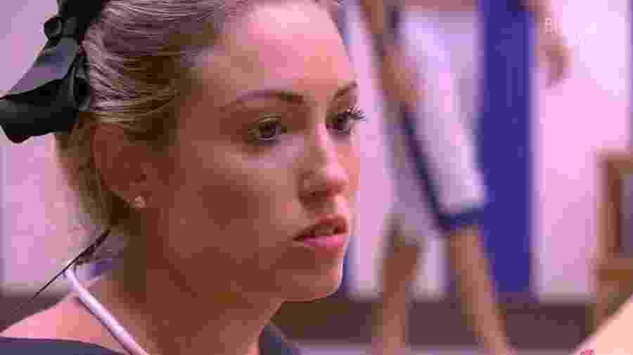 Jéssica reclamou para Lucas sobre comportamento de Ana Clara - Reprodução/Globoplay