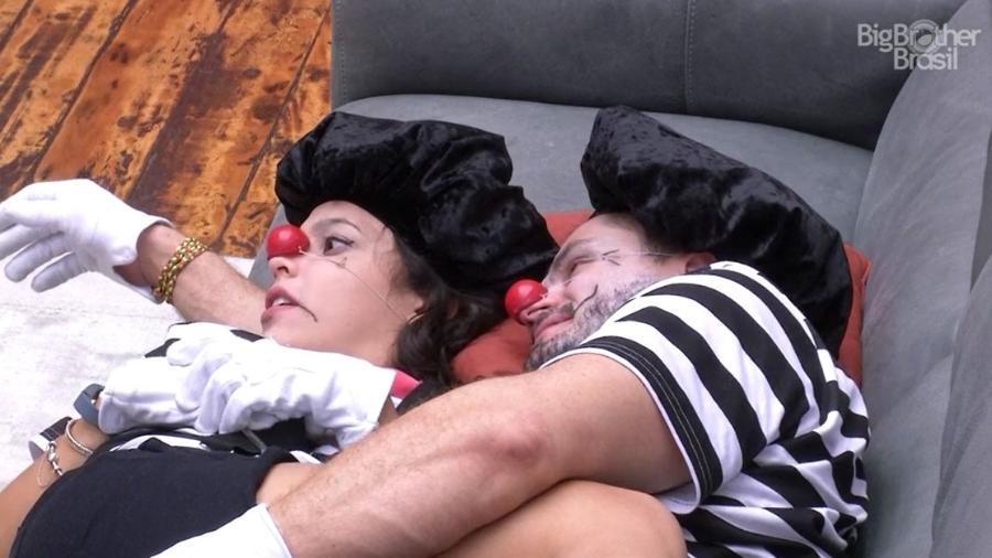 Emilly e Marcos comentam sobre sonho erótico - Reprodução/TV Globo