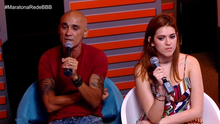 Ayrton e Ana Clara reprovam postura de Kaysar - Reprodução/GloboPlay