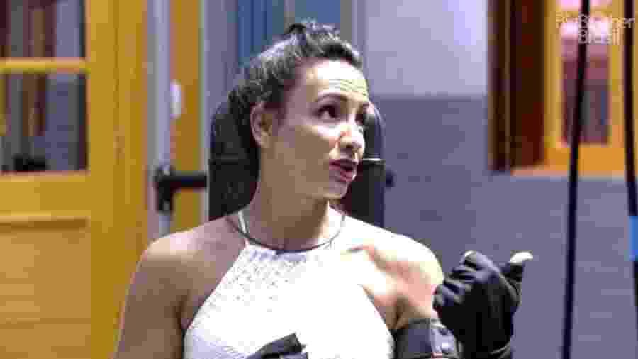 Marinalva afirma não fugir de briga - Reprodução/Tv Globo
