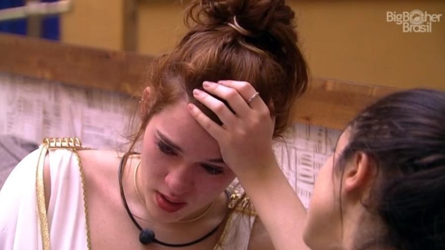 Ana Clara conversa com Paula sobre Breno  - Reprodução/Tv Globo