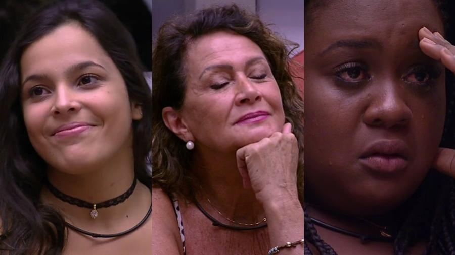 """Os participantes do sétimo paredão do """"BBB17"""" - Montagem/TV Globo"""