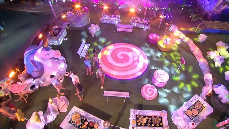 """Brothers chegam na festa """"Lollipop"""" - Reprodução/GloboPlay"""