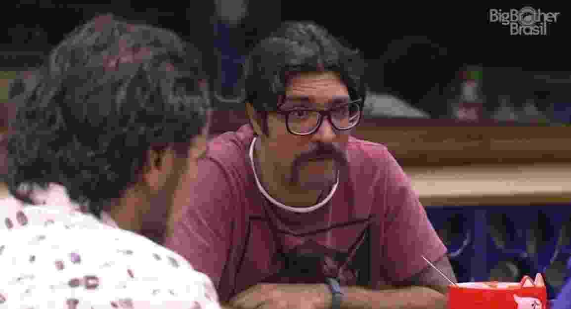 """08.02.2017 - Ilmar, participante do """"BBB17"""" - Reprodução/Tv Globo"""