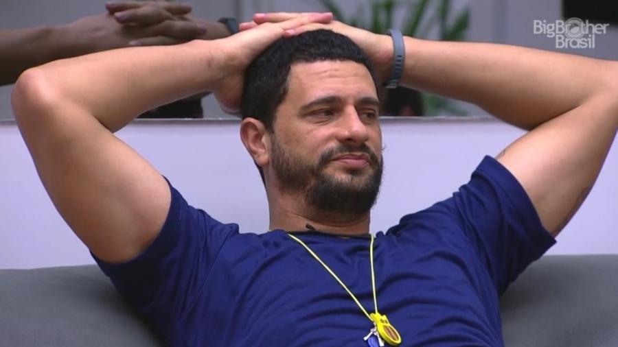 Daniel diz que depende da imunização de anjo Emilly para montar sua estratégia de paredão - Reprodução/TV Globo