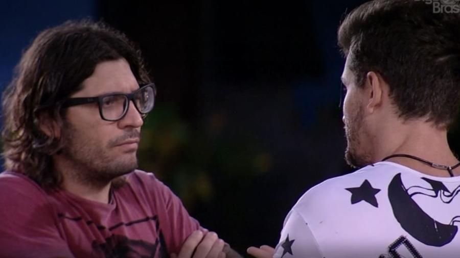 Ilmar e Marcos falam sobre Emilly - Reprodução/TV Globo