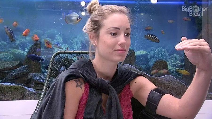 Jéssica diz que está confiante em sua torcida durante o Raio-x - Reprodução/GloboPlay
