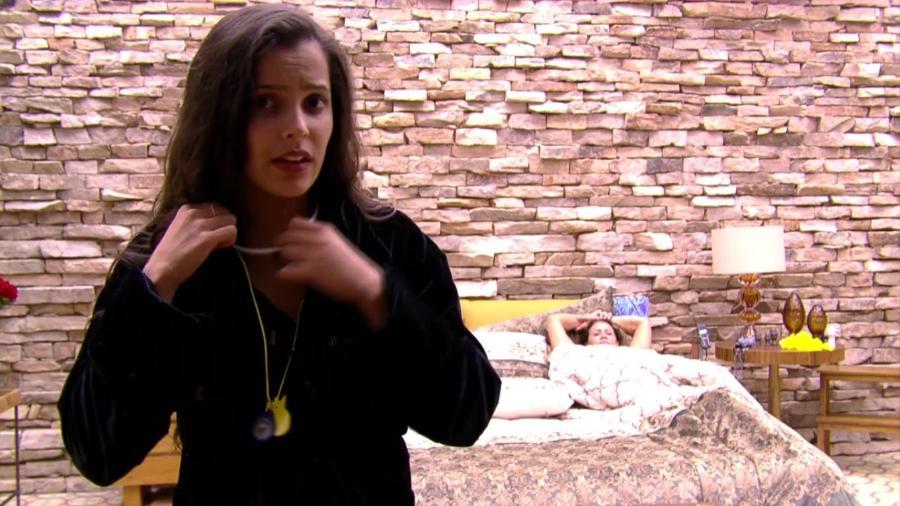 Emilly reclamou de Marinalva após comentário maldoso da sister - Reprodução/Gshow