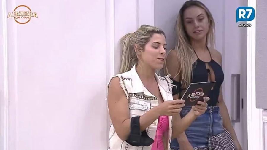 Ana Paula Minerato anuncia a punição para os peões - Reprodução/R7