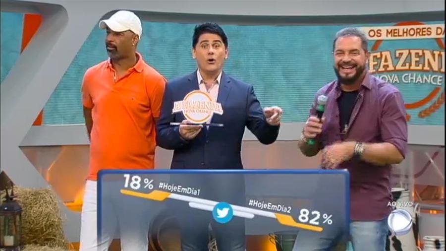 """Conrado vence prêmio do programa """"Hoje em Dia"""" - Reprodução/R7"""