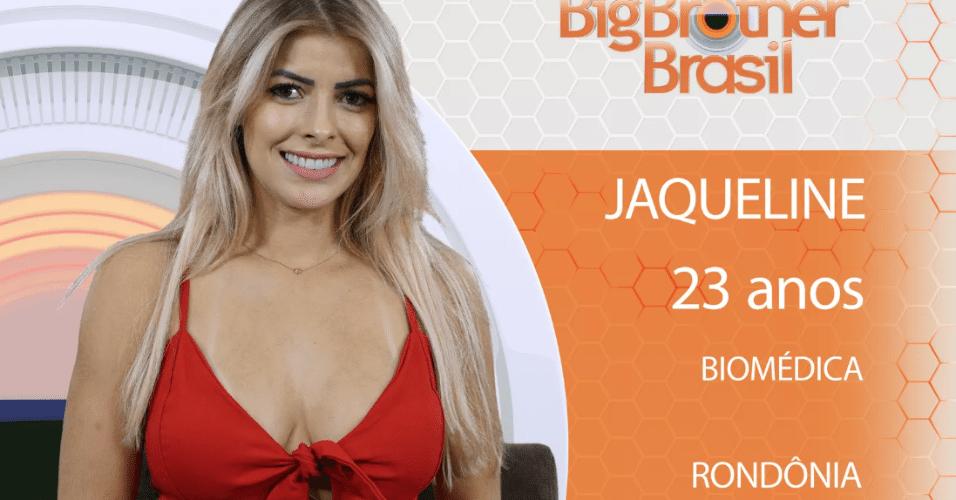 """Jaqueline, participante do """"BBB18"""""""