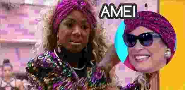 Diva Adélia 9 - Reprodução/Globo e Montagem/Diva Depressão - Reprodução/Globo e Montagem/Diva Depressão