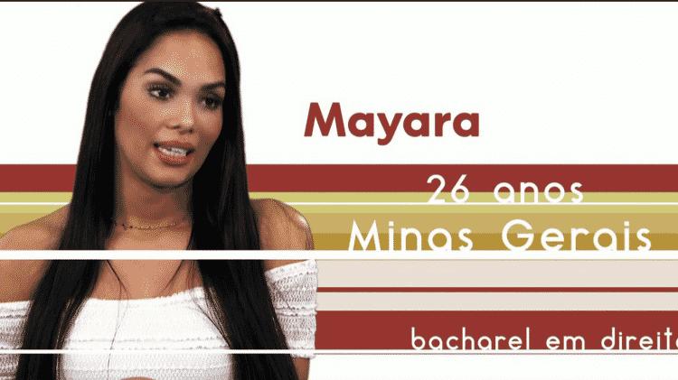 """A Bacherel em Direito Mayara Motti, participante do """"BBB17"""" - Reprodução/TV Globo - Reprodução/TV Globo"""