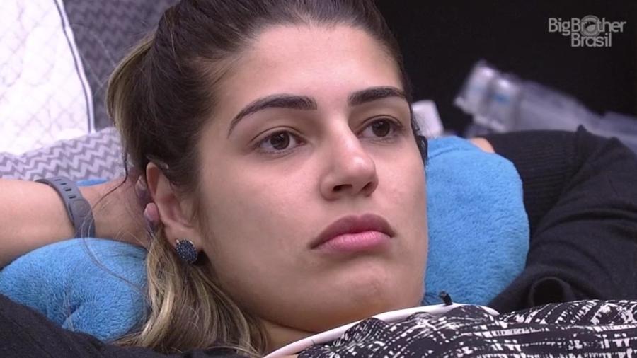 Vivian deseja a saída de Emilly - Reprodução/TV Globo
