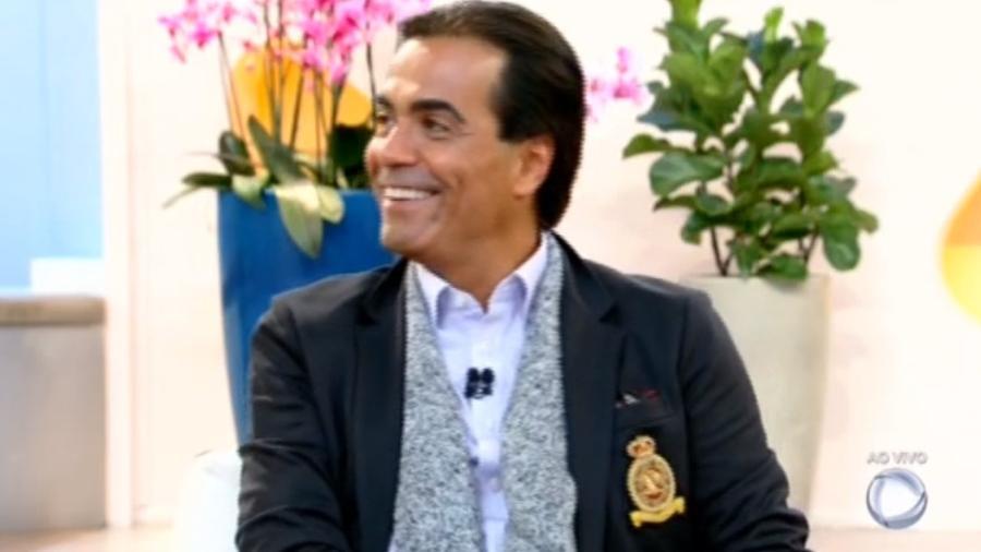 """Fábio Arruda no """"Hoje em Dia"""" - Reprodução/Record"""