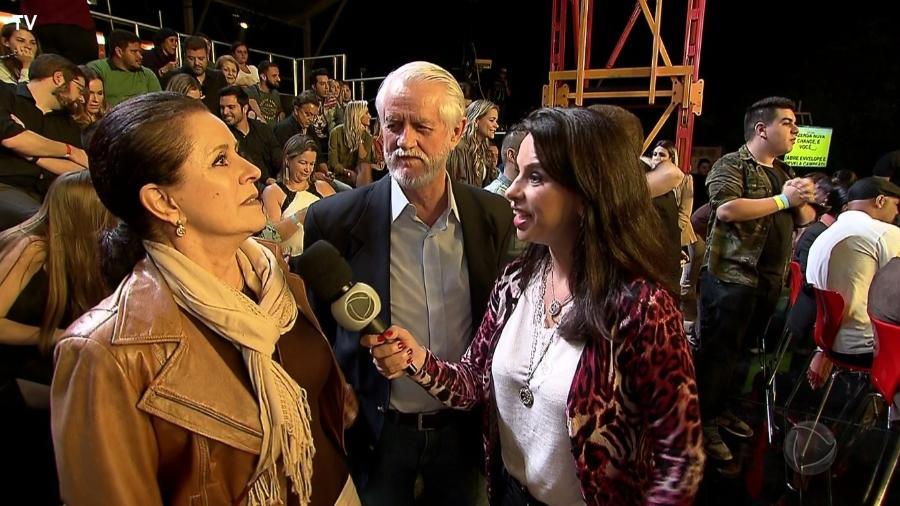 """Pais de Marcos Harter em entrevista para o programa """"Hoje em Dia"""" - Reprodução/Record"""