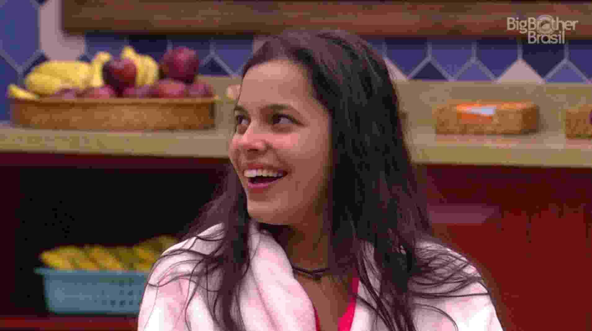 """24.jan.2017 - Mayla, participante do """"BBB17"""" - Reprodução/Tv Globo"""