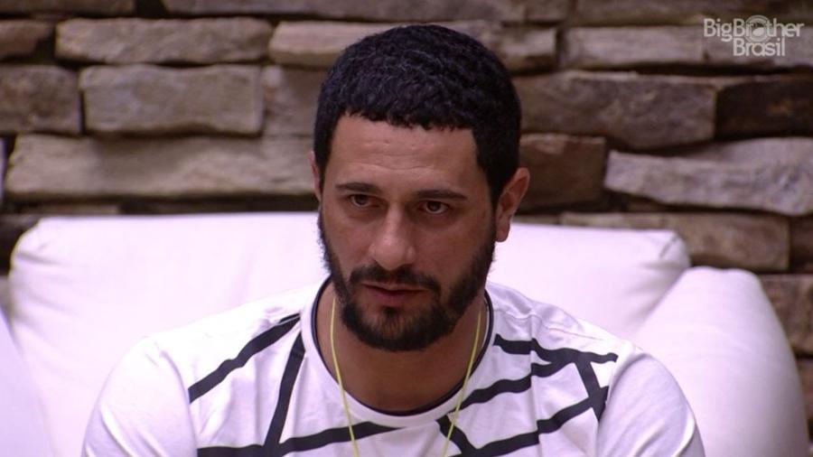 Daniel acha que Luiz Felipe não sobreviverá ao paredão - Reprodução/TV Globo