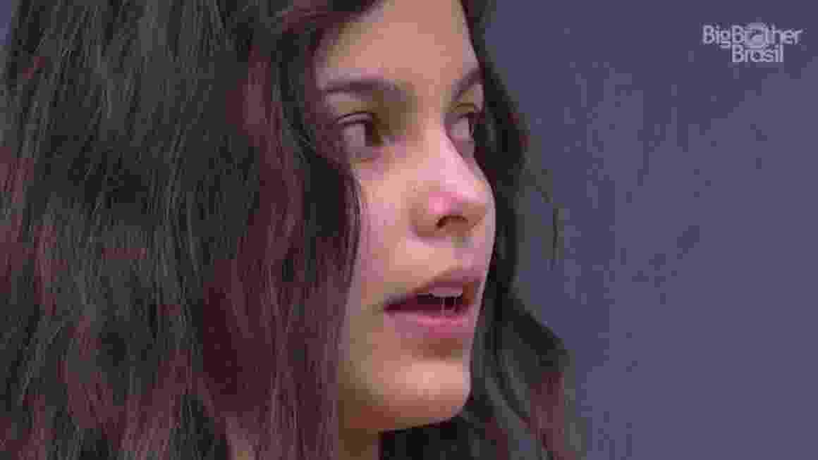 """Emilly diz para Marcos: """"Eu e tu não demos certo"""" - Reprodução/ TV Globo"""