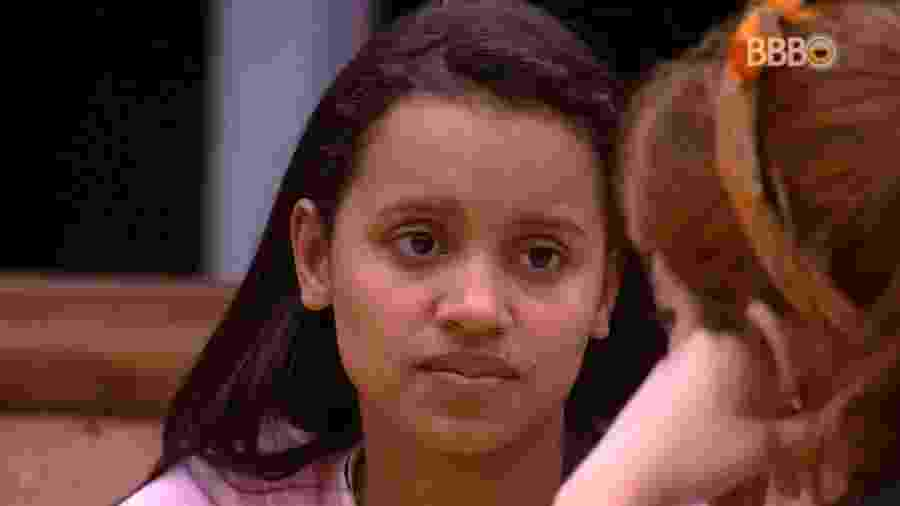 Gleici conversa com Ana Clara na cozinha - Reprodução/GlobosatPlay