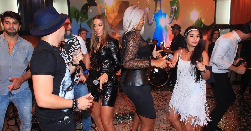 6.abr.2016 - Brothers dançam ao som de Ivete Sangalo, Ludmilla e Wesley Safadão, na final do