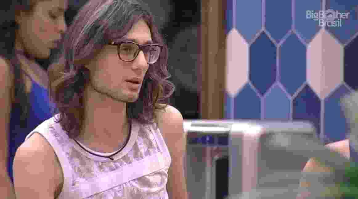 Pedro conta para colegas que tem de ansiedade crônia - Reprodução/TV Globo