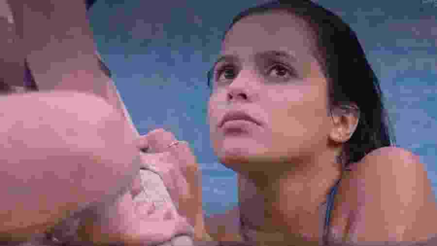 Emilly reclama de assédio após prova - Reprodução/TV Globo