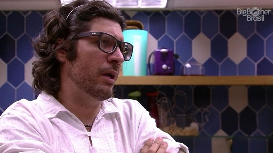 Ilmar: apostando na saída de Roberta - Reprodução/TV Globo