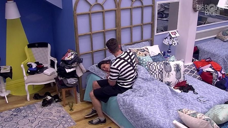 Emilly tem crise de choro ao ser indicada para a berlinda - Reprodução/TV Globo