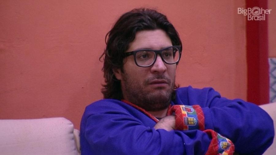 """Ilmar fala sobre sua estratégia de jogo: """"Exército de um homem só"""" - Reprodução/TV Globo"""