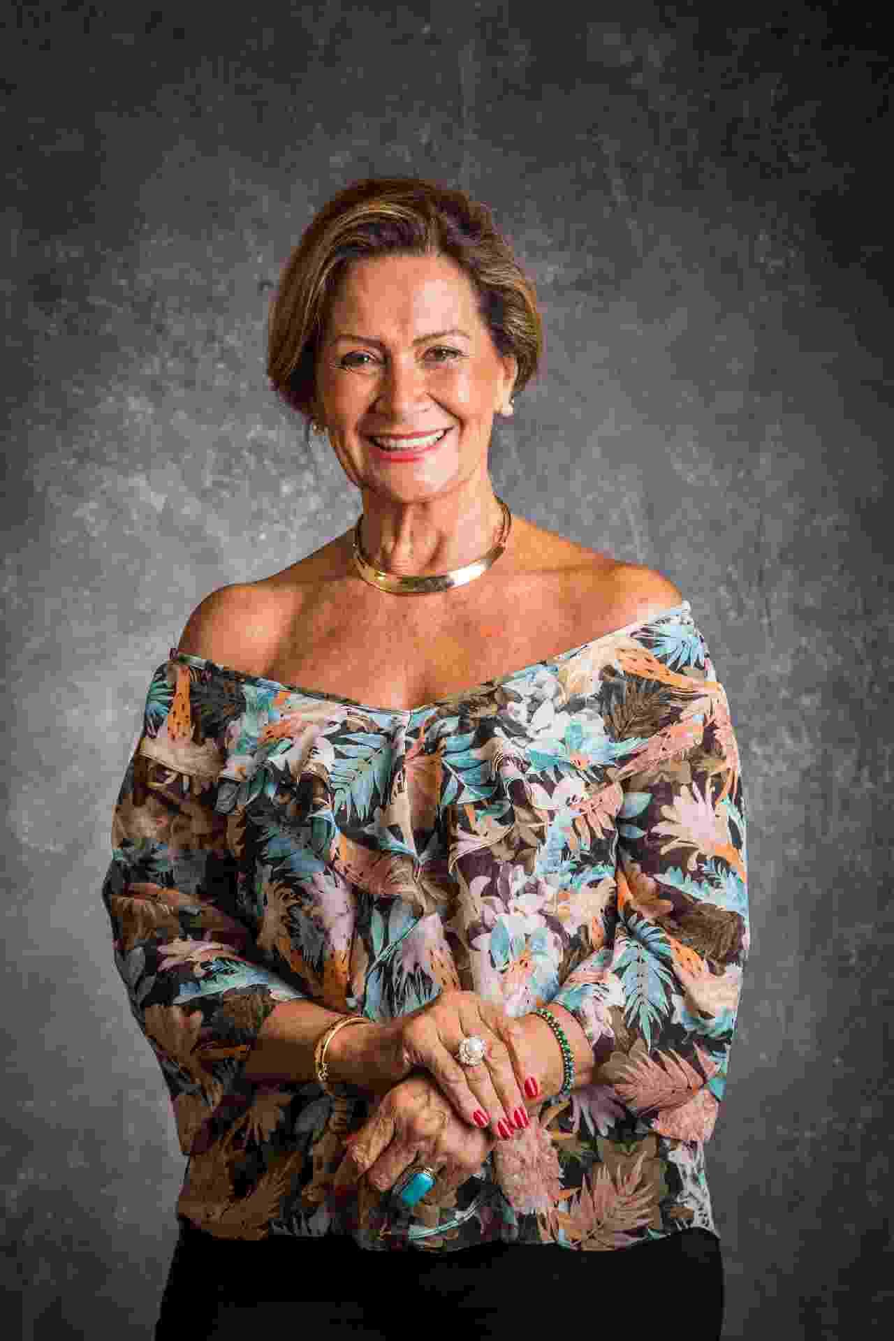 """A aposentada Ieda Wobeto, participante do """"BBB17"""" - Paulo Belote/Divulgação/TV Globo"""