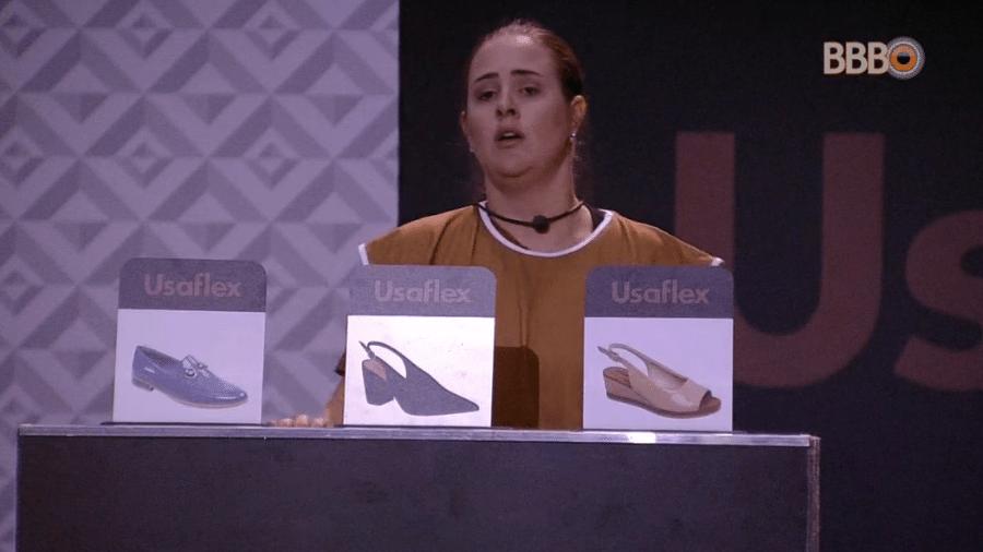 """Patrícia vence a sexta prova do líder do """"BBB18"""" - Reprodução/RedeGlobo"""